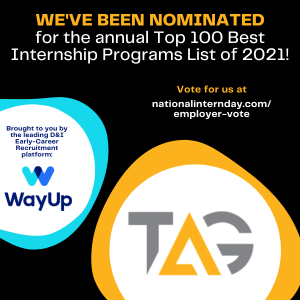 WayUp Top 100 Internship Programs