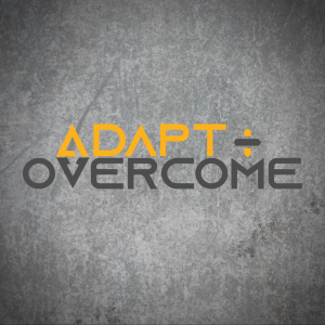 adapt+overcome podcast thumbnail